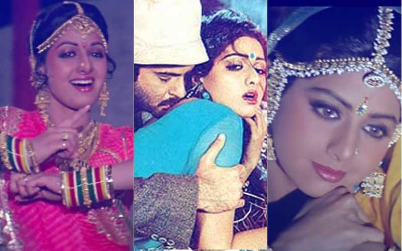 REMEMBERING Sridevi: 10 MOST UNFORGETTABLE Songs Of Bollywood's CHANDNI...