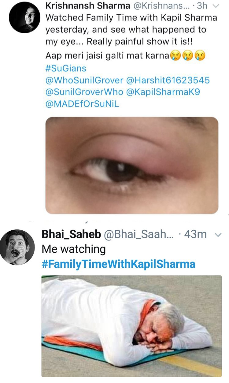 troll comments on kapil sharma new show