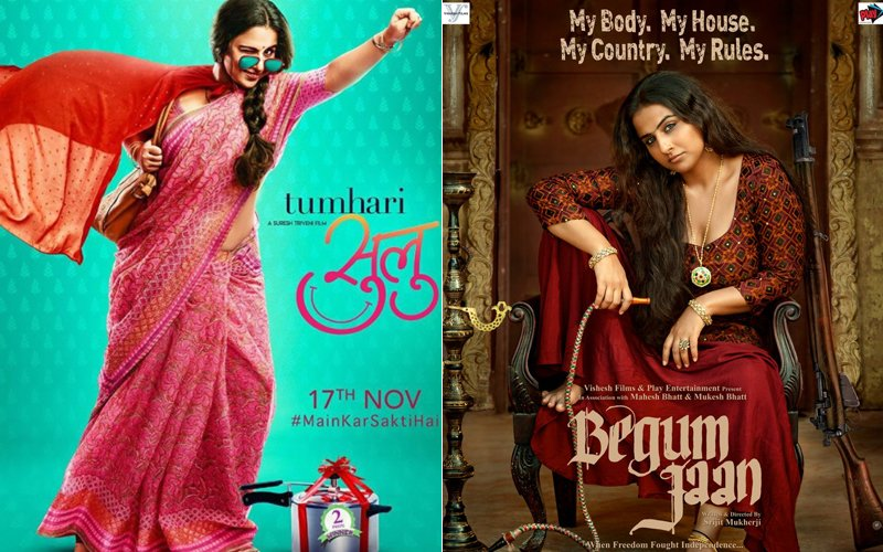 tumhari sulu and begum jaan poster
