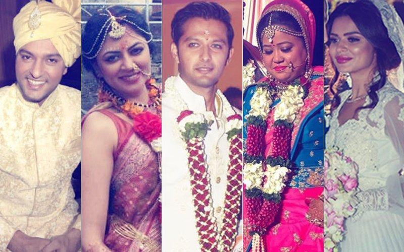 Anas Rashid, Kavita Kaushik, Vatsal Sheth, Bharti Singh, Aashka Goradia: TV Stars Who Got Hitched In 2017