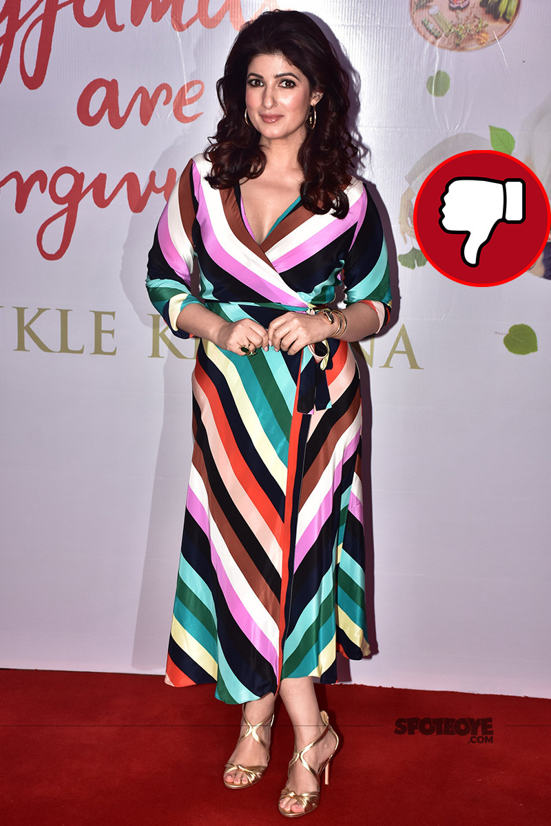 twinkle khanna at her book launch event