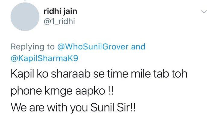 twitteratis responding to kapil sharma s latest tweet