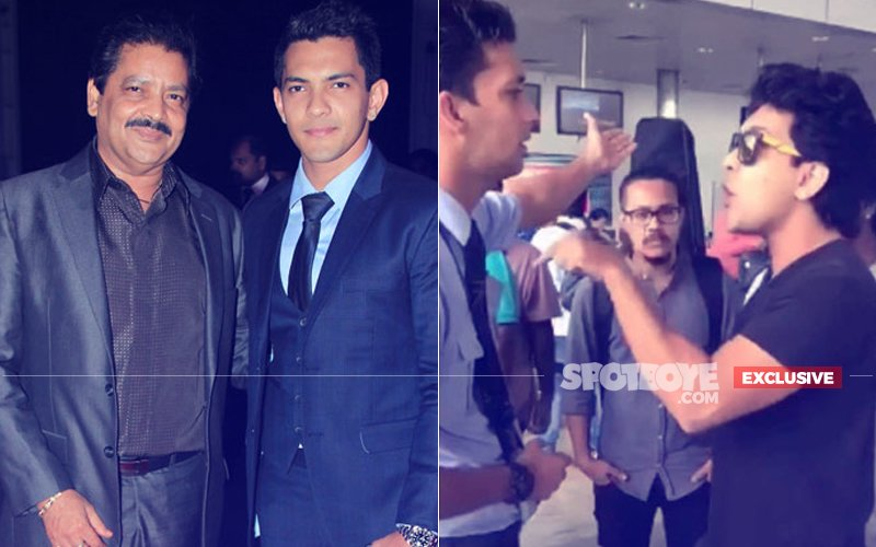 WE ARE ASHAMED. Udit Narayan,  Say 'Sorry' Instead Of Covering Up Your Bratty Son Aditya