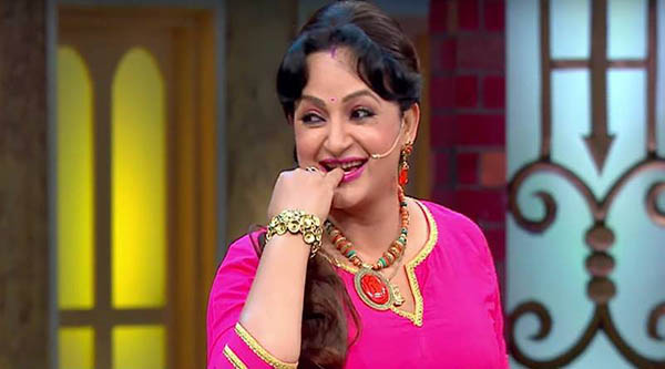 upasna singh in a still from the kapil sharma show