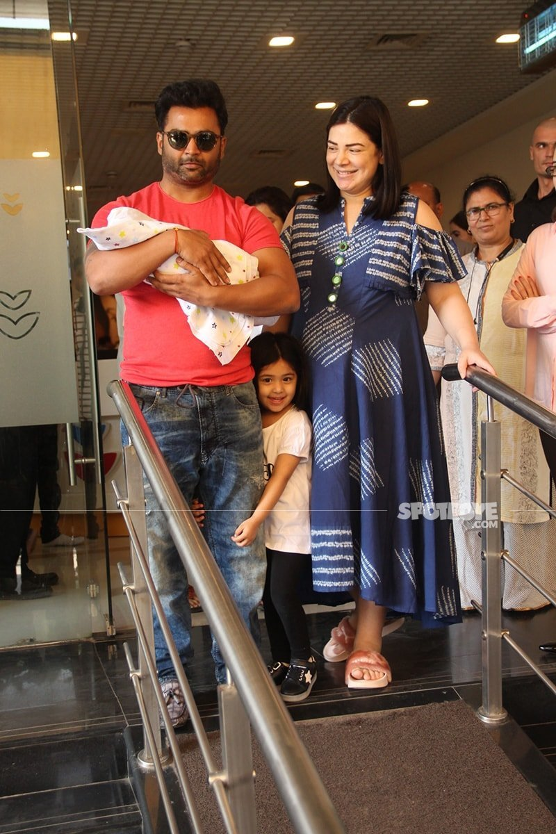 urvashi sharma and sachiin Joshi are elated with the arrival of their second baby