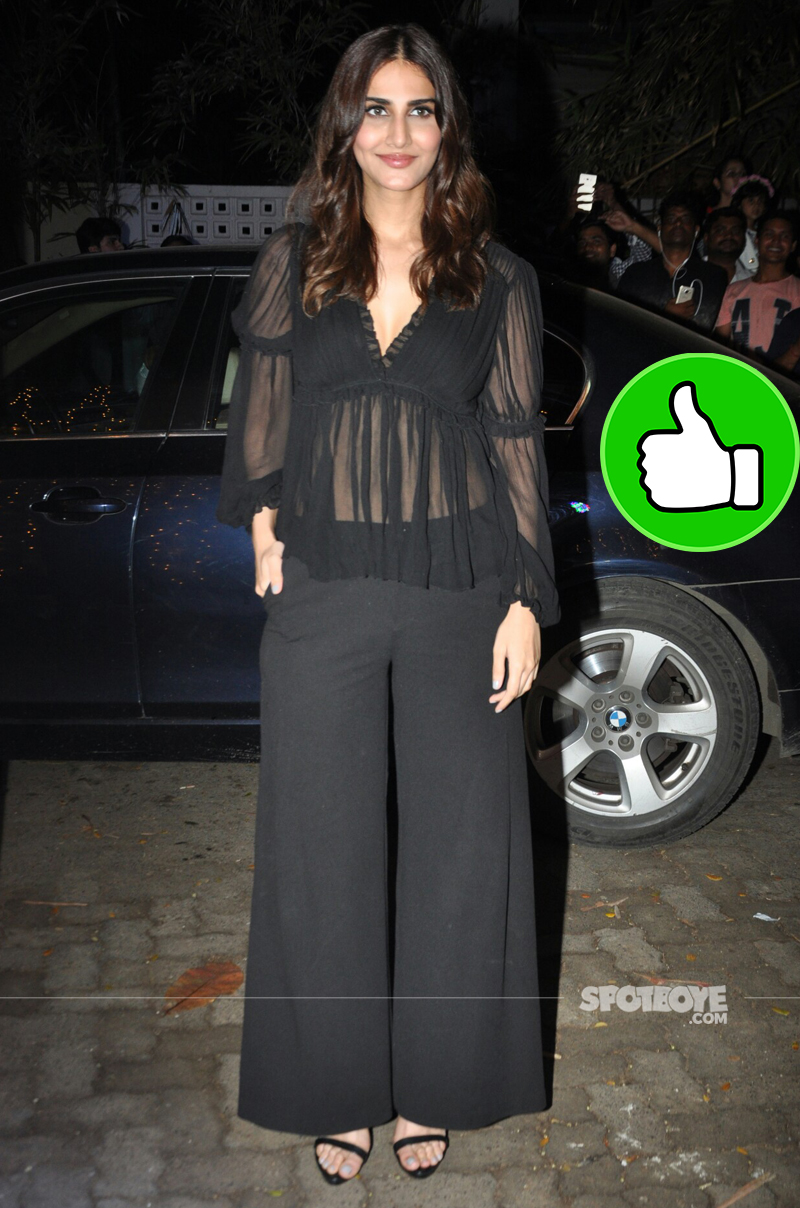 vaani kapoor at toilet screening
