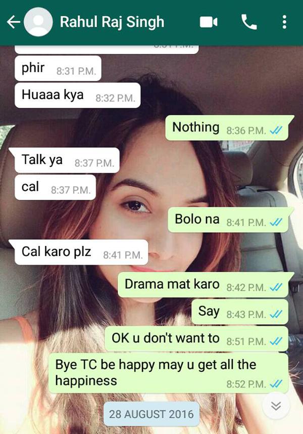 varsha bhagwani and rahul raj singh watsapp conversation 6