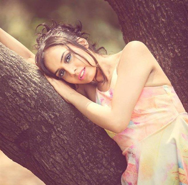varsha bhagwani poses for a photoshoot