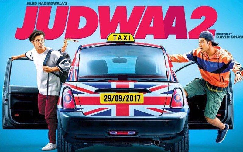 Judwaa 2 First Poster: Varun Dhawan's Double Dhamaka Explodes
