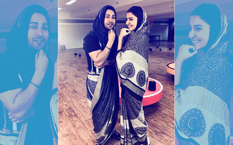 Varun Dhawan Recreates Chachi 420 Moment With Anushka Sharma. The Sui Dhaaga Jodi Is On Fire!