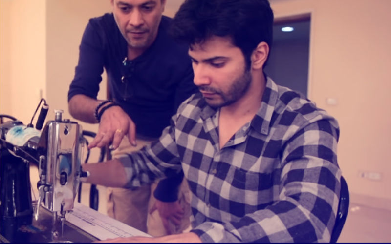 Varun Dhawan Devoted 3 Months To Learn Tailoring For Sui Dhaaga!