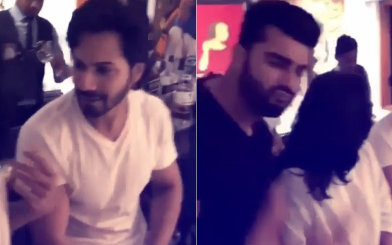 Sonam Kapoor Wedding: Varun Dhawan, Arjun Kapoor's Sangeet Rehearsal- Watch Video