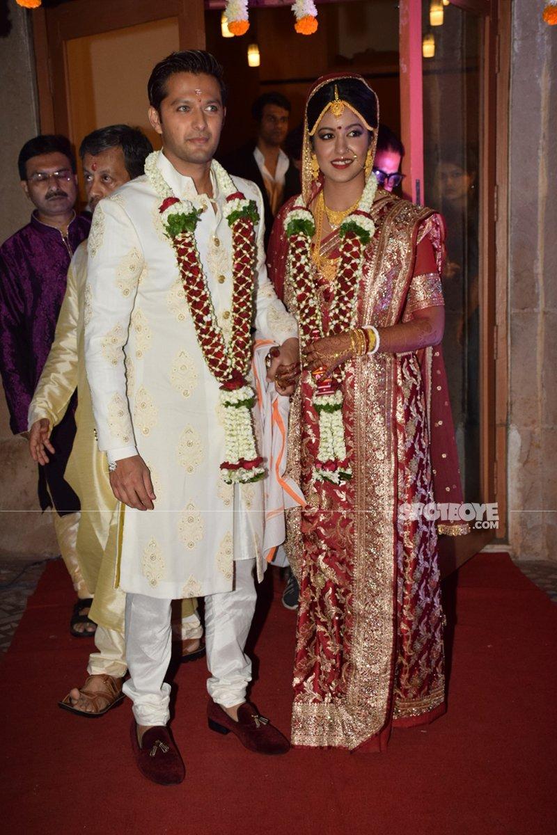 vatsal seth and ishita dutta get hitched