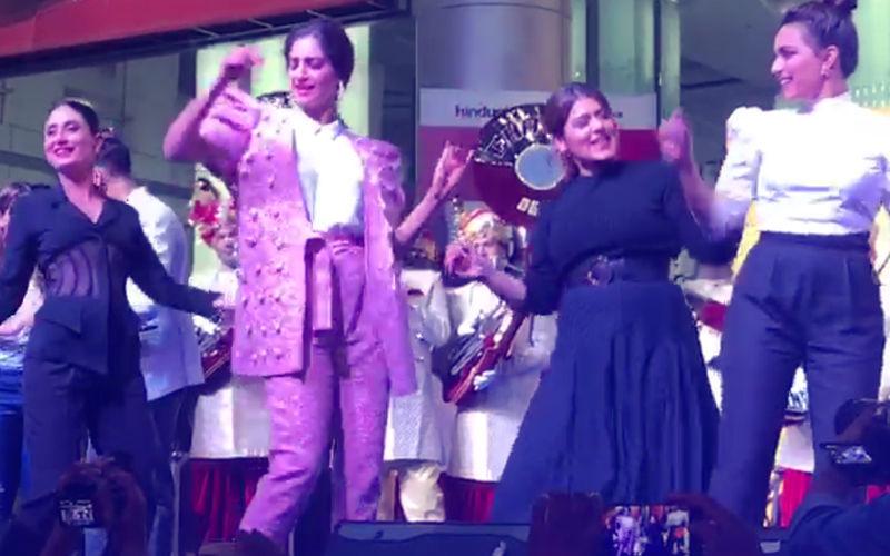 Video: Veeres Kareena, Sonam, Swara & Shikha Dance To Tareefan At A Live Gig In Delhi