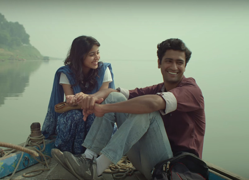 vicky kaushal and shweta tripathi in maasan