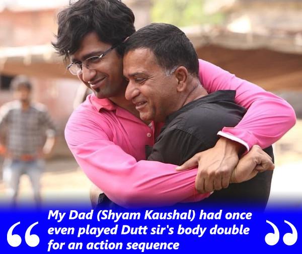 vicky kaushal with dad shyam kaushal