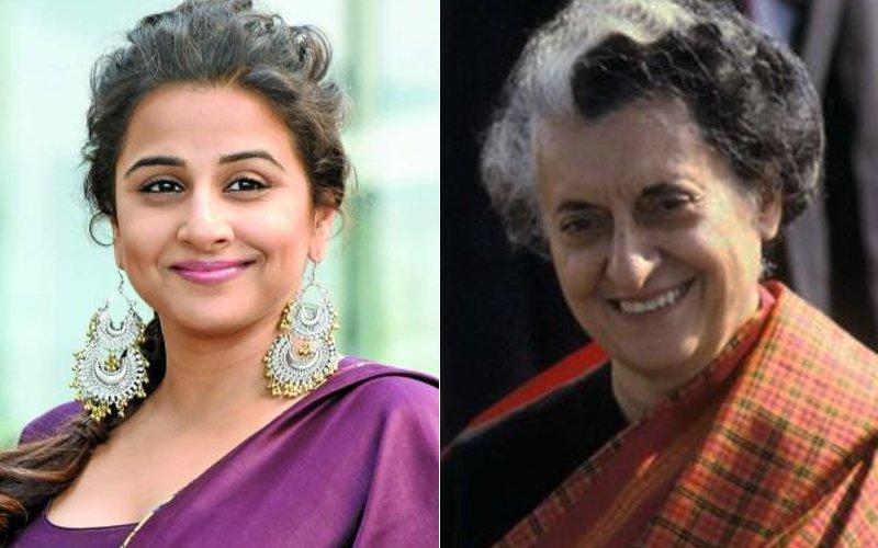 Vidya Balan And Indira Gandhi