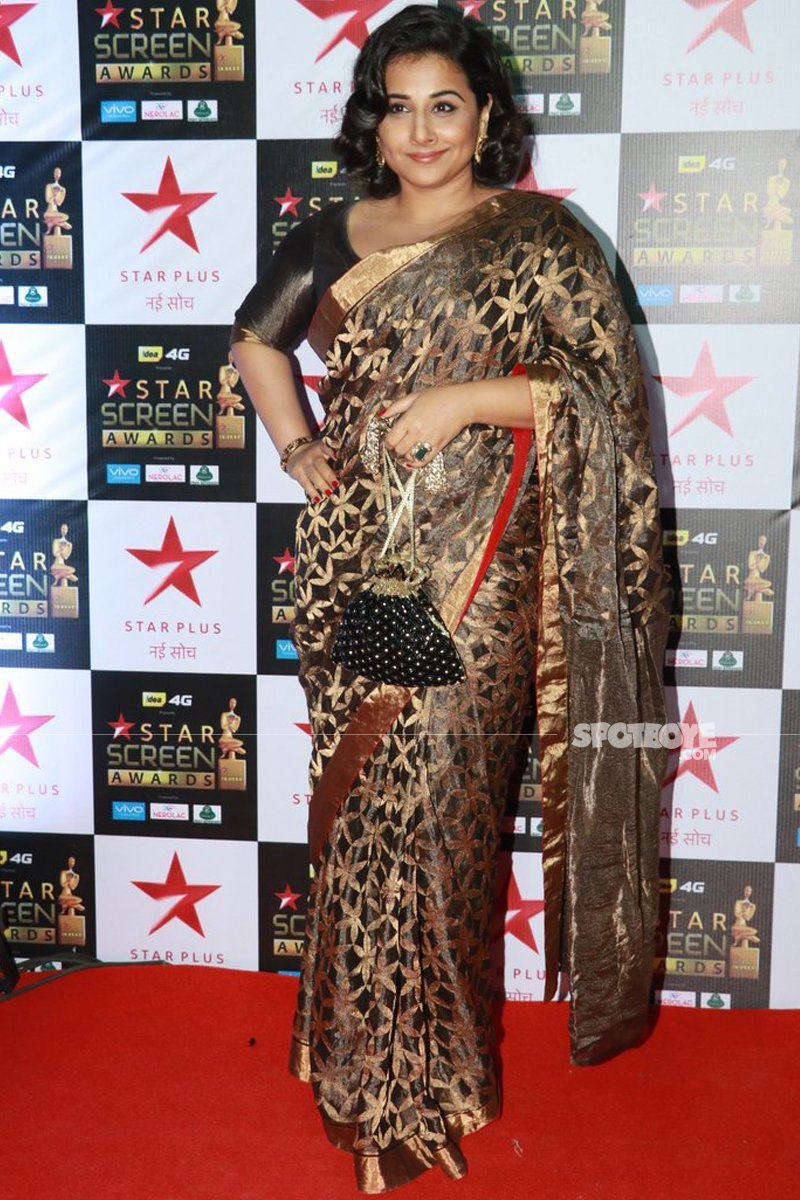 vidya balan at star screen awards
