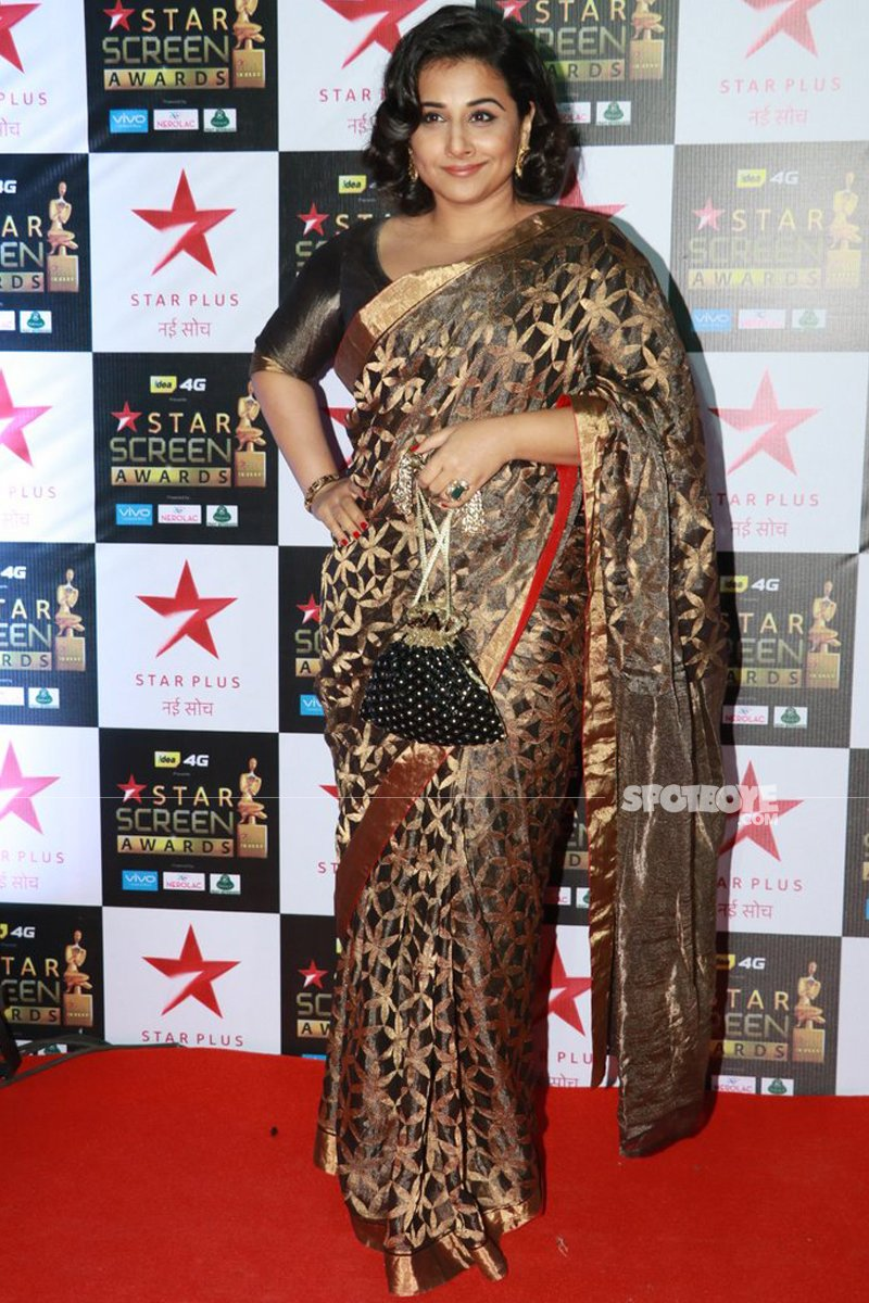 vidya balan at star screen awards