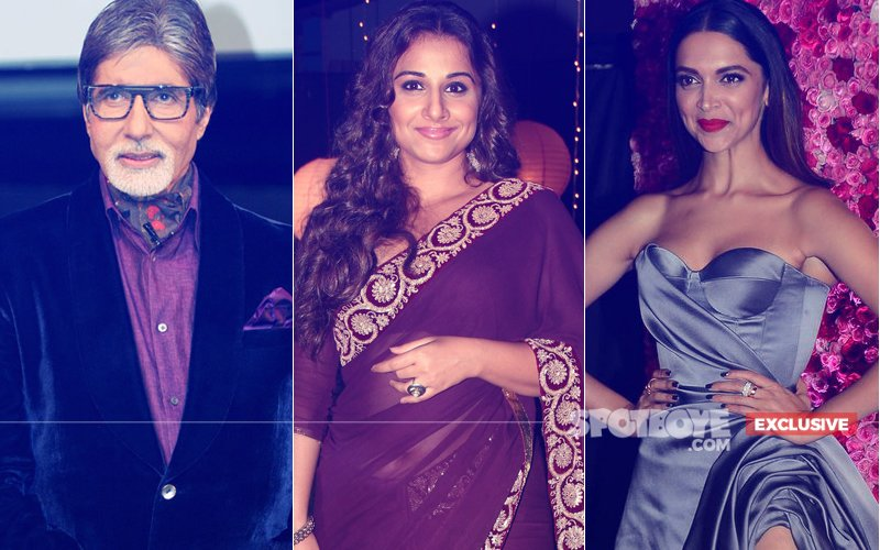 Vidya Balan Moves Away From Amitabh Bachchan & Deepika Padukone