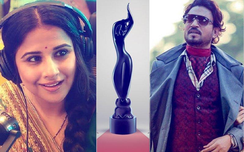 FILMFARE AWARDS 2018: And The Black Lady Goes To... Irrfan Khan & Vidya Balan!
