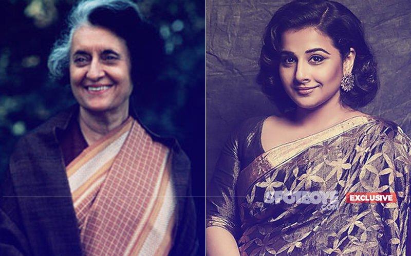 CONFIRMED: Vidya Balan Will Play Indira Gandhi