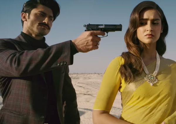 vidyut jamwal and ileana drcuz in baadshaho