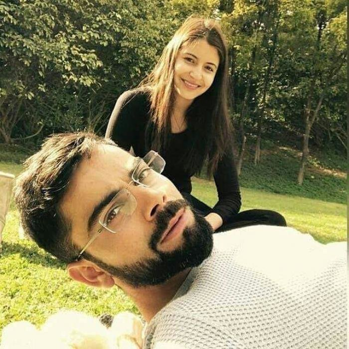 virat and anushka spending quality time with each other