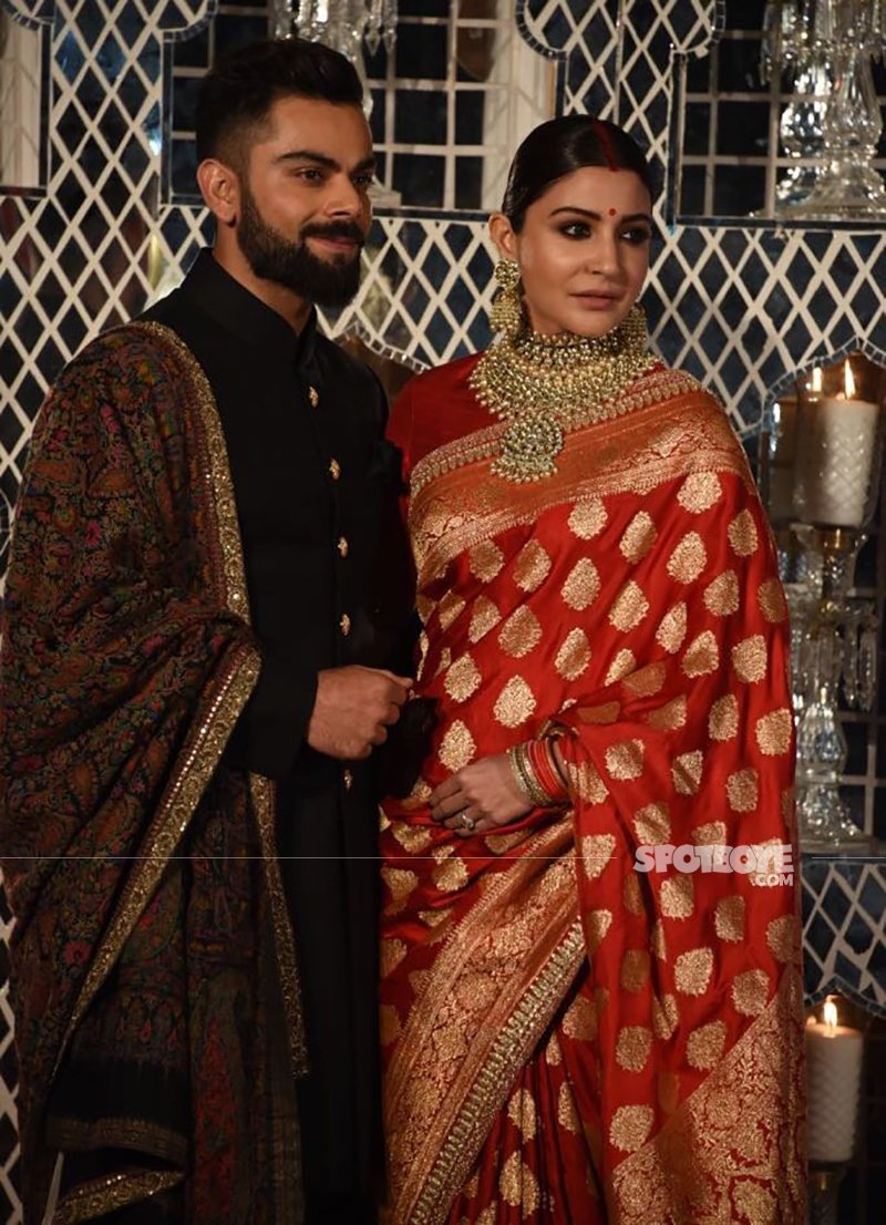 virat and anushka wedding party in delhi
