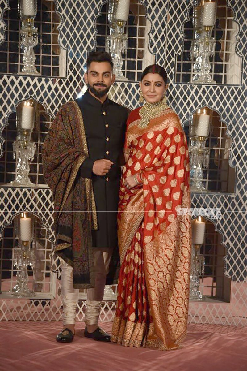 virat and anushka wedding reception in delhi