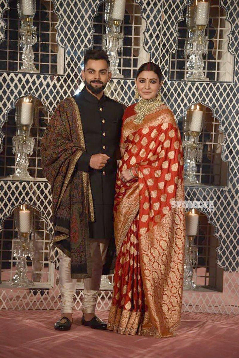virat and anushka wedding reception in delhi