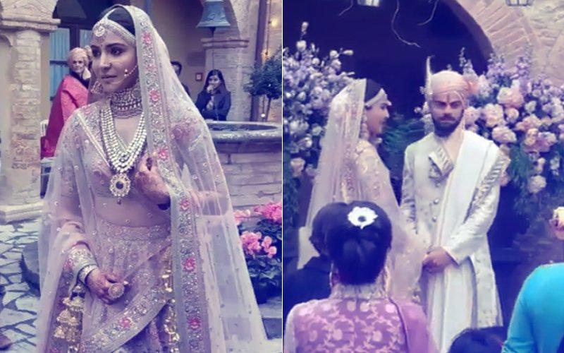 VIDEO: Virat Kohli WELCOMES HIS BEAUTIFUL BRIDE, Anushka Sharma