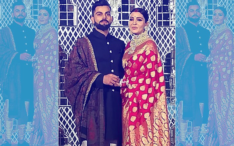 FIRST PICTURES: Virat Kohli & Anushka Sharma Arrive For Their Reception Party In Delhi
