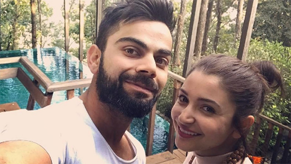 virat kohli anushka sharma on a vacation together