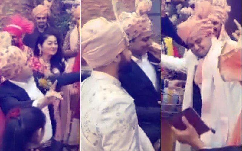 BARAAT VIDEO: Anushka's Family Grooves To Dhol Beats, Virat Looks On