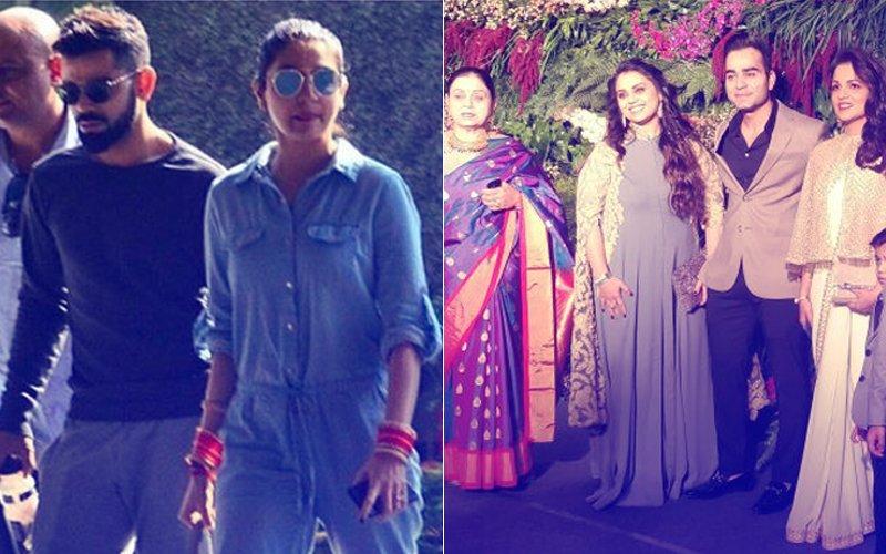 VIRAT-ANUSHKA MUMBAI RECEPTION: Kohlis Arrive, Check Out FIRST Pictures!