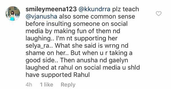 vj anusha slut slamed on social media