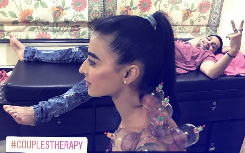 Bani J Now Takes Boyfriend Yuvraj Thakur For A Couple's Session Of Painful Cupping Therapy