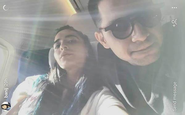 vj bani and yuvraj thakur holidaying