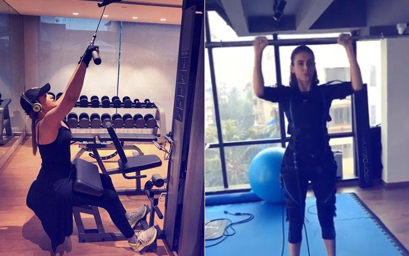 Workout Wednesday: Sonakshi Sinha & Mandana Karimi Sweat-It-Out!