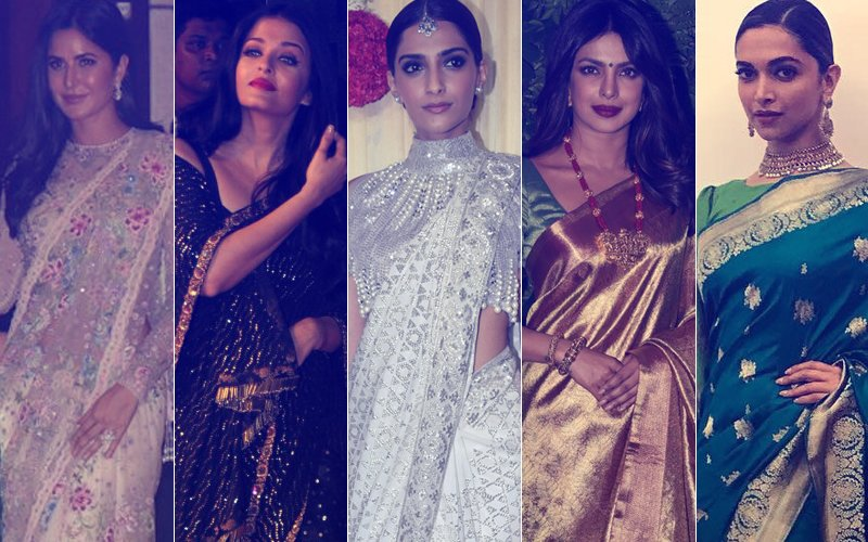 WORST Saree Looks By Katrina, Aishwarya, Sonam, Priyanka & Deepika- DO NOT REPEAT!