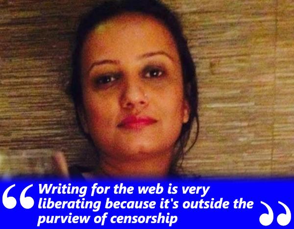 writer sanyukta chawla seikh