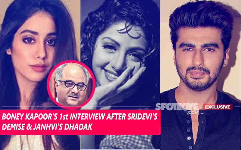 Boney Kapoor Breaks His Silence On Sridevi, Janhvi & Arjun