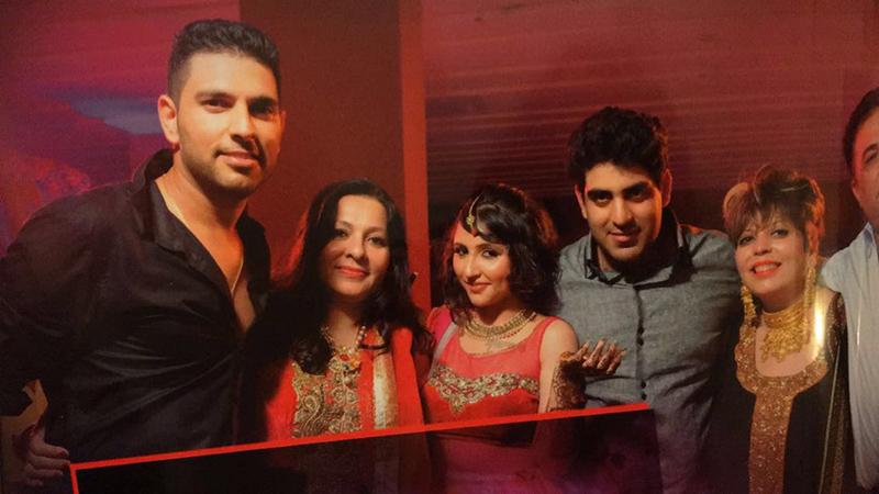 yuvraj singh aksnksha sharma wedding pics