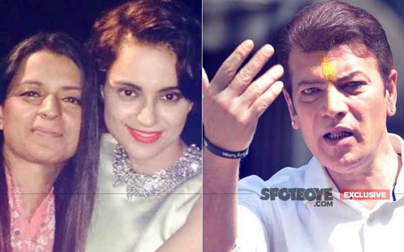 Kangana's Ex-Lover Aditya Pancholi Accuses Her Of Using Sister Rangoli's Twitter Account To Attack People