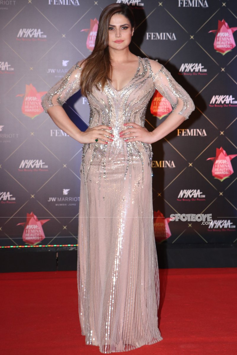 zareen khan at femina awards