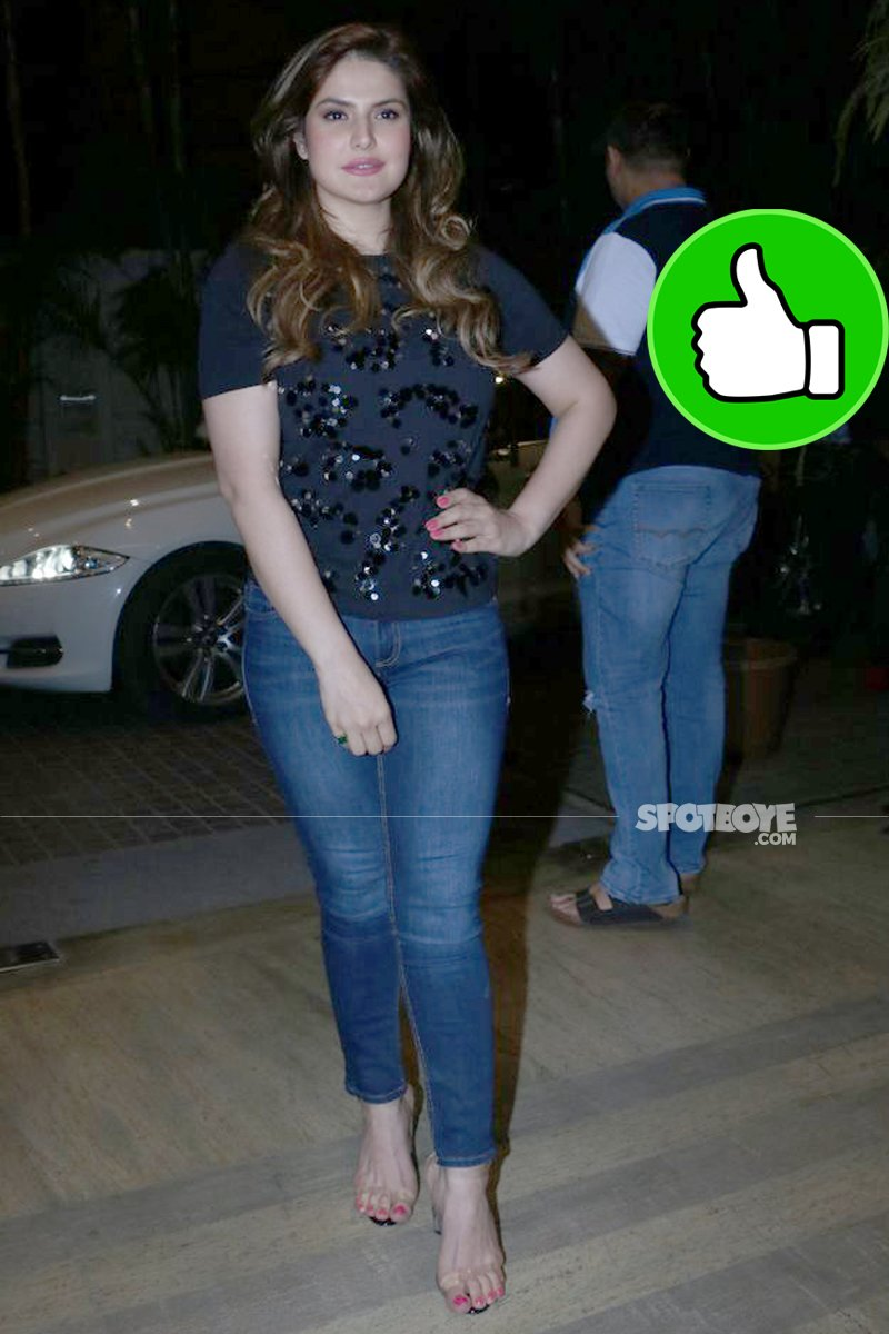 zareen khan at the screening of 1920