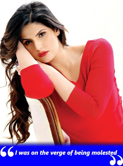zareen khan on molestation