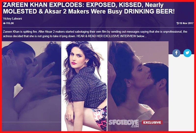 zareen khans explosive interview part 1