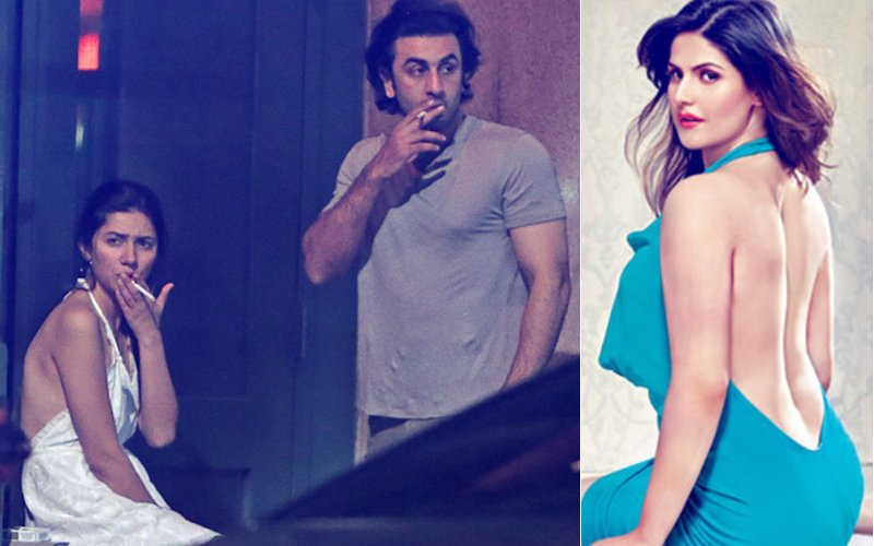 After Ranbir Kapoor, Now Zareen Khan Stands Up For Mahira Khan